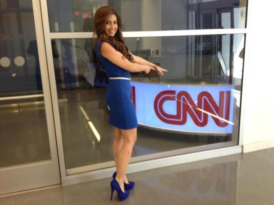 Anahiita at CNN/HLN on the Nancy Grace Show! Nancy is fiesty for sure!