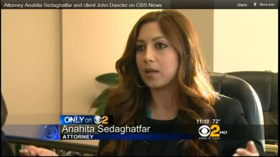 Anahita Sedaghatfar on CBS News