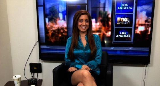 Anahita Sedaghatfar Behind The Scenes on FOX News