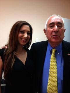 Anahita Sedaghatfar Behind The Scenes At FOX NEWS With Ben Stein